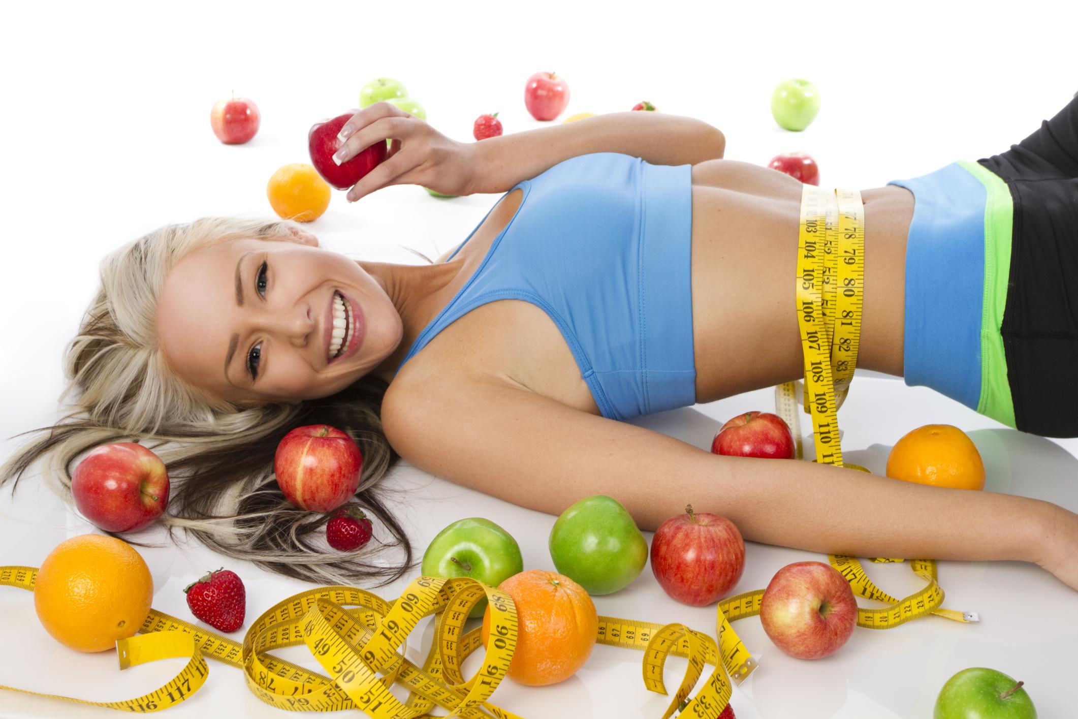 правильное питание при занятиях фитнесом для похудения